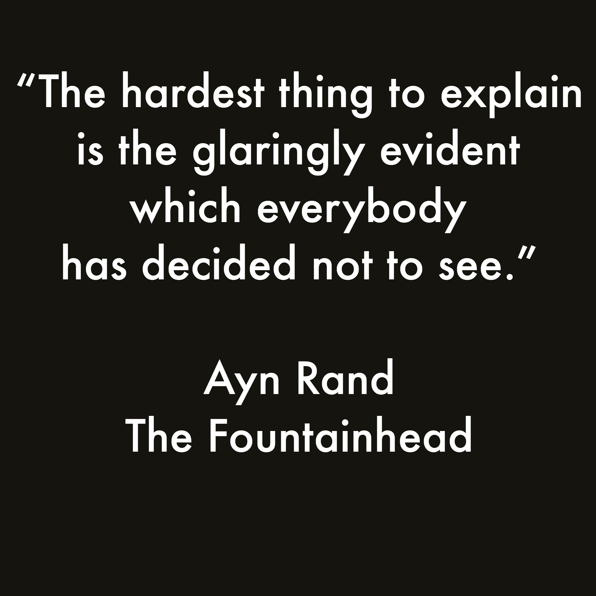 Day 3 The Fountainhead