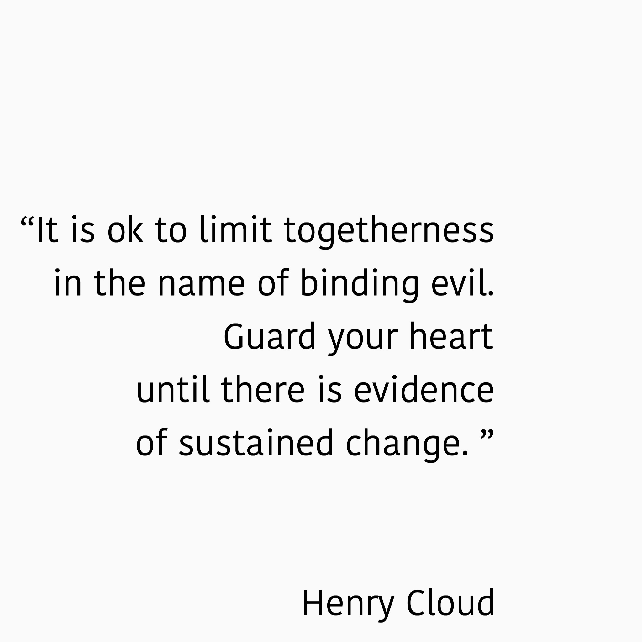 Henry Cloud Boundaries Quote